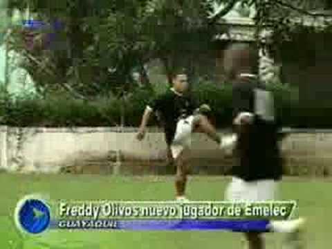 Freddy Olivos nuevo refuerzo de Emelec