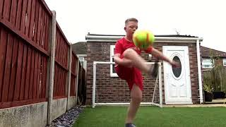 Football basketball new invention