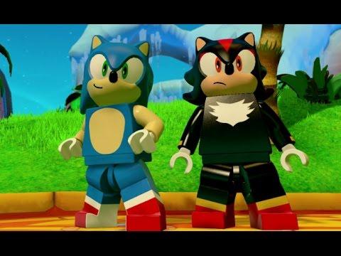 LEGO Dimensions - Sonic the Hedgehog Free Roam Gameplay (Sonic Adventure World)