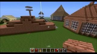 """Hogyan építsünk szép házat Minecraft-ban? 4. rész: """"Dobogó ház"""""""