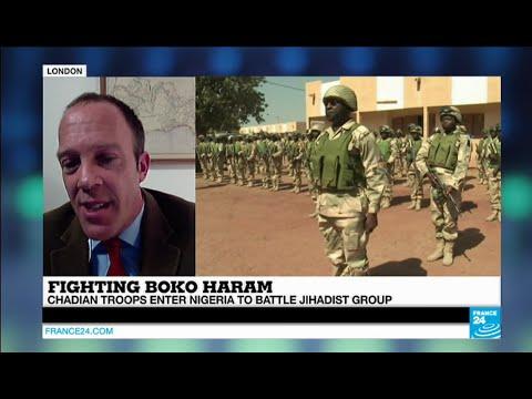 Consultant Anthony Goldman comments Chad's involvment in Nigeria #BokoHaram