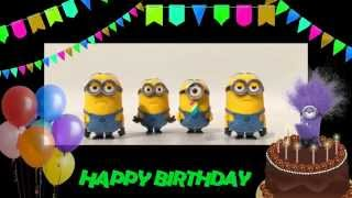 Happy Birthday To You!  Minions Birthday Song.