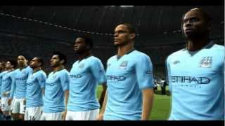 Champions League Final: Liverpool vs Manchester City [PES 2012]