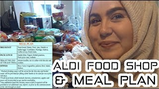 Huge Weekly Grocery Haul & Meal Plan for a Family of 5 | Aldi & Asda | Marwa Chebbi