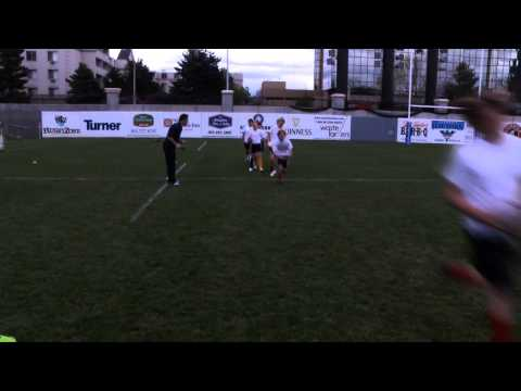 Rookie Rugby - Running with the Ball