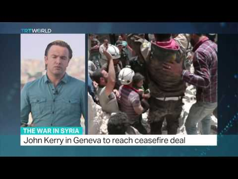 John Kerry in Geneva to reach ceasefire deal, Ediz Tiyansan reports