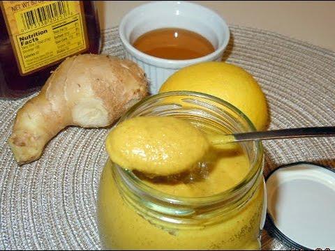 Горчица ЯДРЕНАЯ, ЛЕЧЕБНАЯ с имбирем, медом и лимоном.Самый лучший рецепт