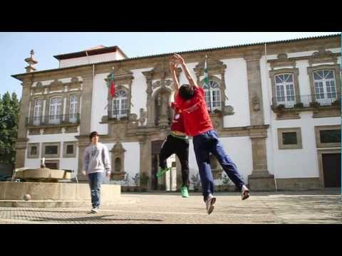 Vdeo da candidatura de Guimares  a Cidade Europeia do Desporto em 2013
