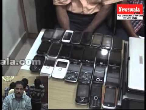 CCS Police recovered stolen laptops, Mobile phones -- 3 arrested