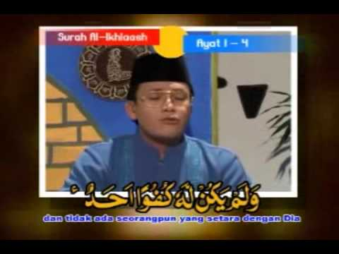 Shiekh Muammar Za & Shiekh Chumaidi - Surah Al Ikhlaas Verse 1 - 4 & An Naas Verse 1 - 6 [part 3] video
