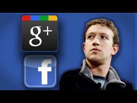 Rooster Teeth Shorts : Facebook vs. Google Plus (Social Network Parody)