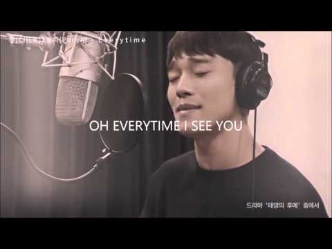 Everytime - Chen X Punch (Descendants of the Sun OST Part 2) [Han,Rom,Eng] Lyrics