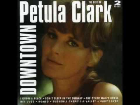 Petula Clark - Downtown (new recording?)