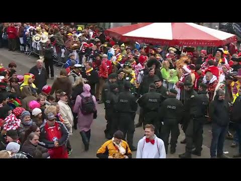 Las amenazas no impiden el Carnaval de Colonia