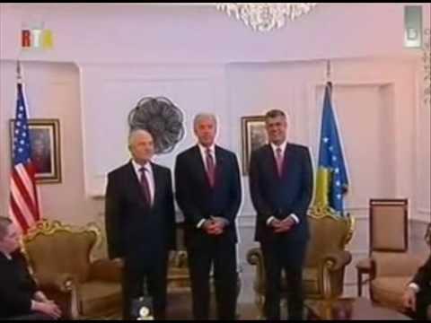 May 2009 U.S. Vice President Joe Biden - independence of Kosovo is irreversible!