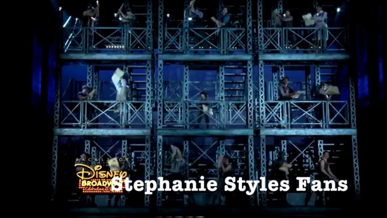 Stephanie Styles Her Newsies