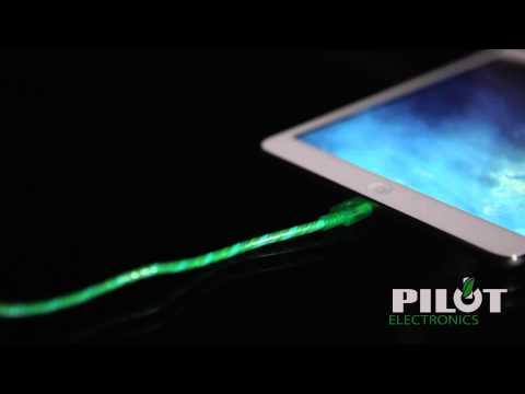 Light Pulse Electroluminescent Charge and Sync Cables