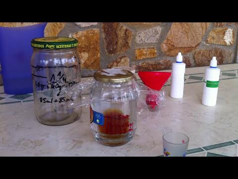 Destilar MMS a CDS con el método del vaso ( shot glass )