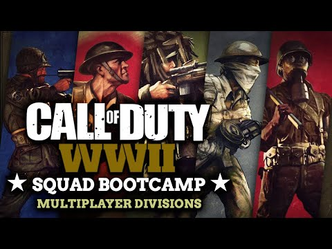 Call of Duty WW2 Multiplayer Divisions Guide - CoD Squad Bootcamp