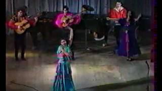 Gypsy dance. Maritanna Davidova
