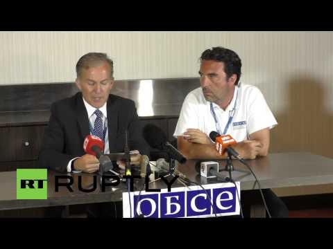 Ukraine: OSCE inspector describes inspection of crash MH17 site