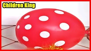 Kids Learn Colors with Balloons And Playing With Super Cars☻Toddlers and Babies Learning Video #8