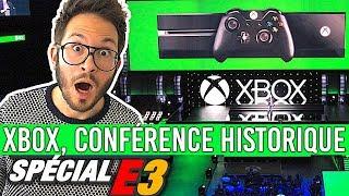 XBOX E3 2018, UNE CONFÉRENCE HISTORIQUE ! Bravo Microsoft...