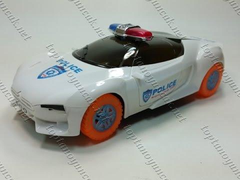 Toptan oyuncak polis arabası D ışıklı müzikli kapıları yukarı açılır