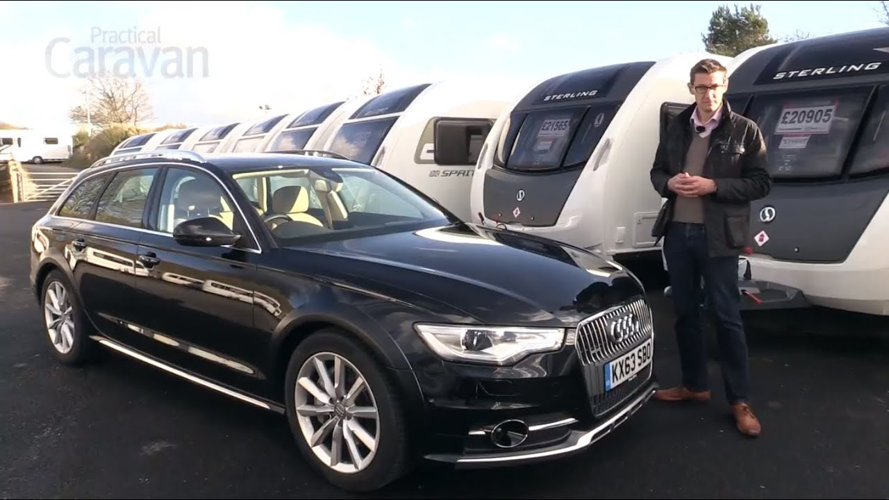 Practical caravan audi a6 allroad review 2014 youtube