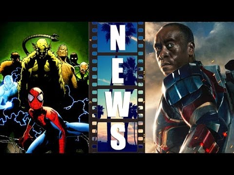 Sinister Six and Venom Movie, War Machine in Avengers 2 Age of Ultron - Beyond The Trailer