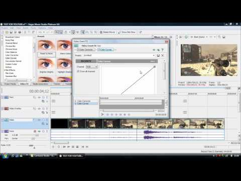 Sony Vegas Basic Tutorial + Slow Motion and Slow Motion Audio Tips for Black Ops and MW2