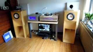 at home with my Fostex FE208 Sigma