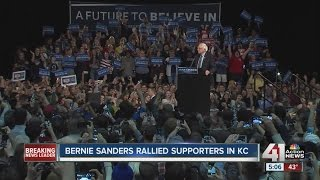 Sanders KC stop has supporters feeling the Bern