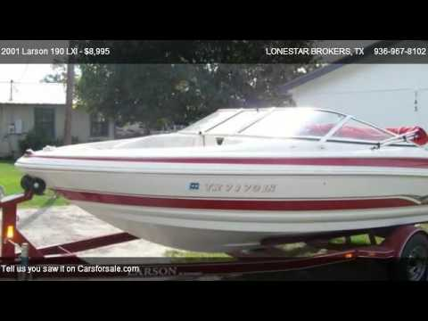 2001 Larson 190 LXI  - for sale in LIVINGSTON, TX 77351