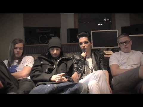 02.02.10 Tokio Hotel – Humanoid City Tour – Interview Part 1