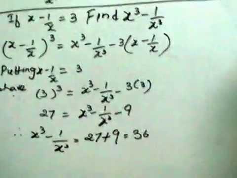 Math Examples Algebra Maths Algebraic Identities
