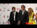 "Zac Efron & Ashley Tisdale at ""2008 ALMA AWARDS"" Press Room"