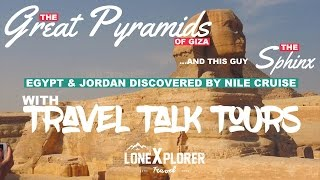 The Step Pyramid, Great Pyramids & the Sphinx with Travel Talk Tours (2016)