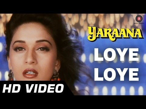Loye Loye | Yaraana [1995] | Raj Babbar, Madhuri Dixit | Romantic Songs video