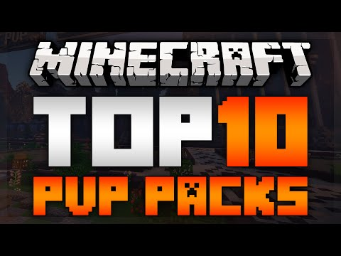 TOP 10 MINECRAFT PVP TEXTURE PACKS FOR 1.11.2! [HD]