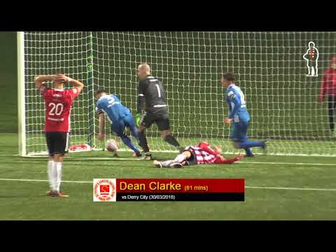 Goal: Dean Clarke (vs Derry City 30/03/2018)
