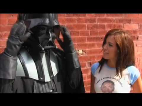 Obama Girl meets Chad Vader