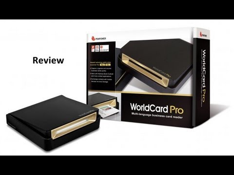 Review Scanner for Business Card Penpower WorldCard Pro