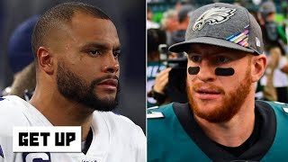 Dak Prescott and Carson Wentz will put on an 'aerial show' in Week 7 - Louis Riddick | Get Up