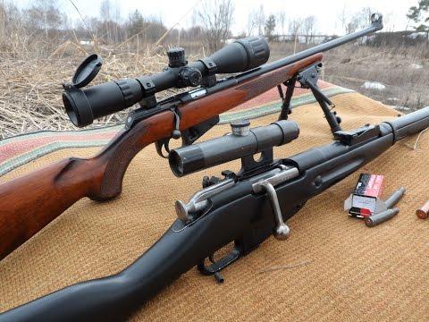 ТОЗ-78 с прицелом Липерс VS винтовка Мосина. Расстрел водонагревателя))