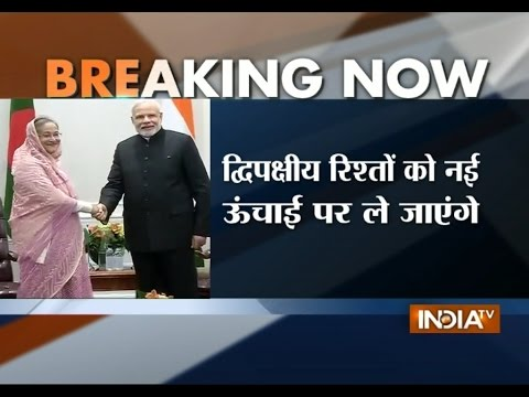 Sheikh Hasina Praises PM Modi's Work | India Tv
