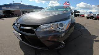 2017 Toyota Camry XLE Auto (Natl) - Used Car For Sale - St. Paul, MN
