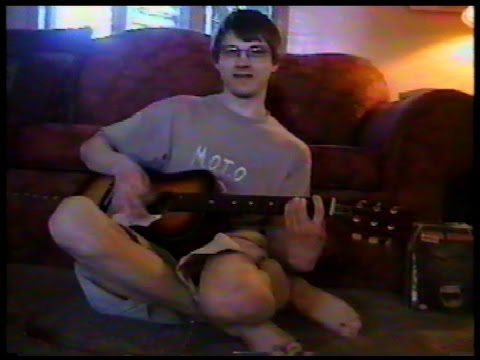 My Son Films Me 2000 -(Weird Paul)  My 4 Year Old Son Singing