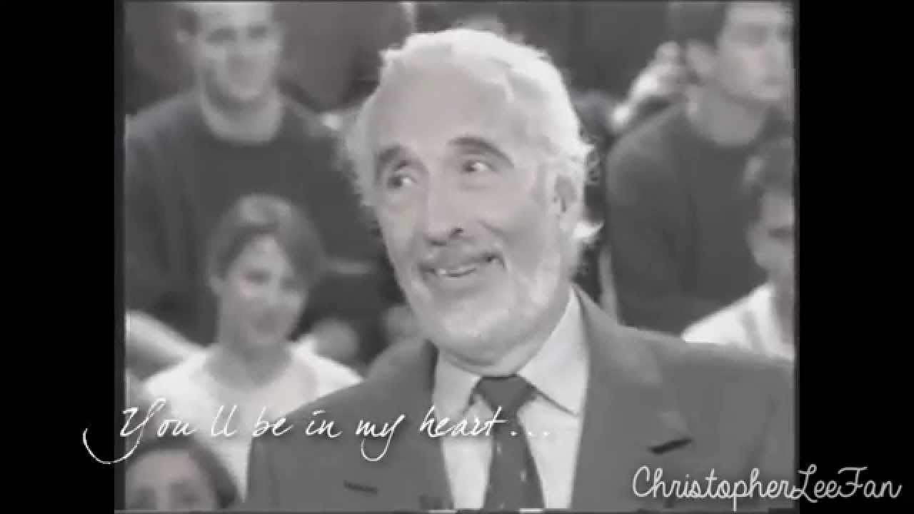 Christopher Lee   my h...