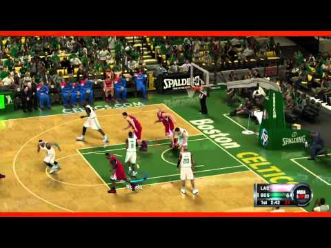NBA2K12 LA Clippers vs. Boston Celtics